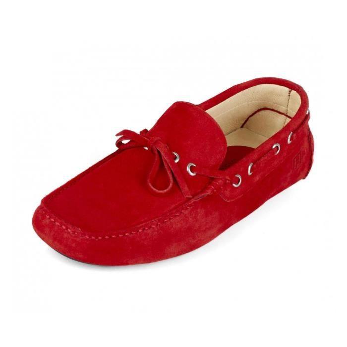 chaussures de hackett pilote de dentelle rouge rouge. Black Bedroom Furniture Sets. Home Design Ideas