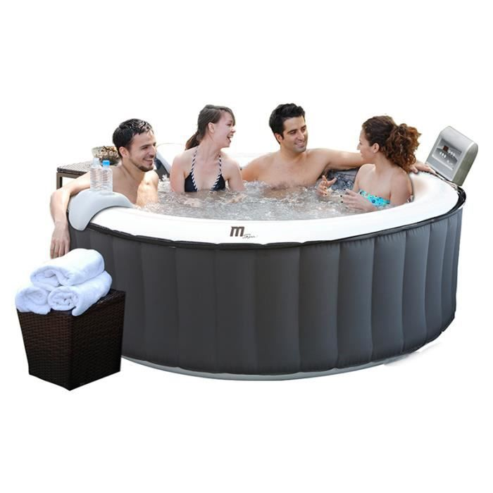 Spa gonflable silver cloud b 110 lite 4 places achat vente spa complet - Spa gonflable discount ...