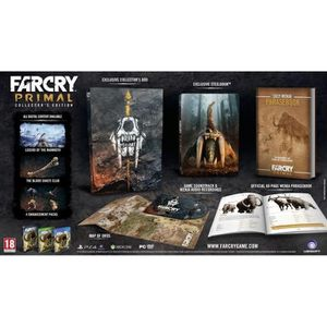 Far Cry Primal Edition Collector Jeu PS4