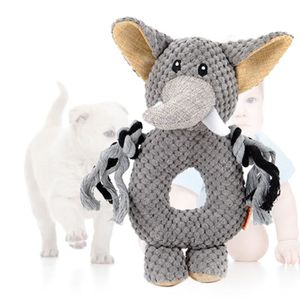 PELUCHE Voix Chiens Chats Singe / Elephant / Hippo Ring Pe