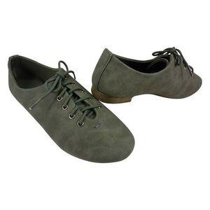 BALLERINE Chaussures femmes à lacets Gris
