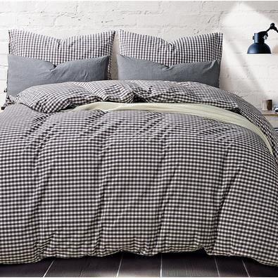 coton d 39 une seule pi ce de draps en lin de lit en coton de lits en dortoirs sur les. Black Bedroom Furniture Sets. Home Design Ideas