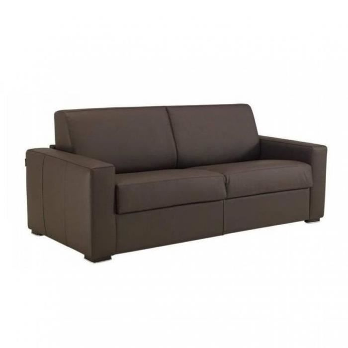 Canap convertible rapido 120cm dreamer cuir c achat for Canape convertible couchage 120