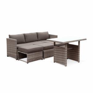 salon de jardin m tal achat vente salon de jardin. Black Bedroom Furniture Sets. Home Design Ideas