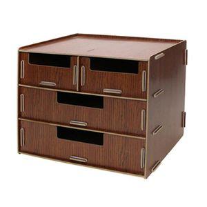 boite de rangement 2 tiroir achat vente boite de rangement 2 tiroir pas cher cdiscount. Black Bedroom Furniture Sets. Home Design Ideas