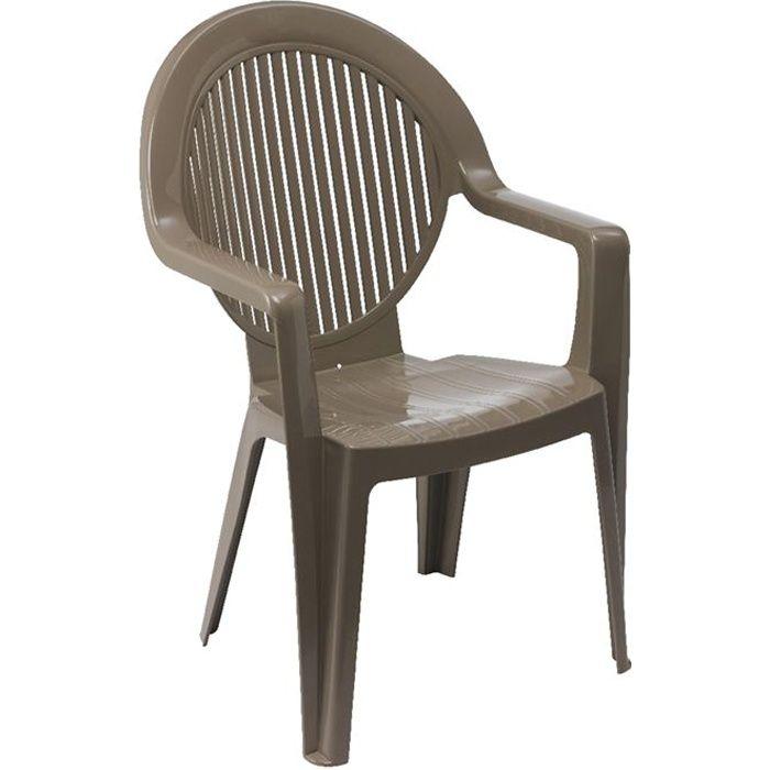 Fauteuils fidji grosfillex achat vente fauteuil jardin - Fauteuil de jardin pvc ...