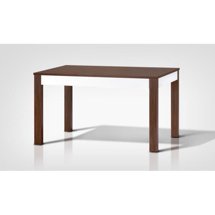 Table avec rallonge contemporaine style sans chaises - Table contemporaine avec rallonge ...