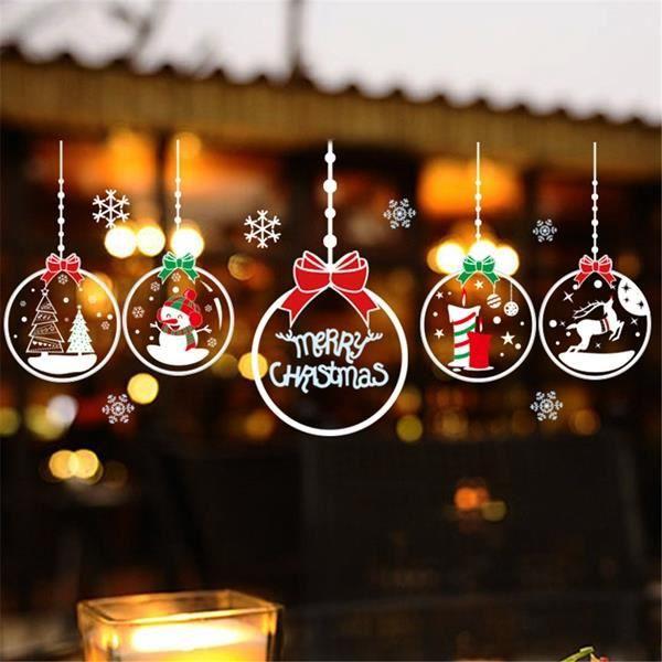 Decoration Vitre Noel Achat Vente Decoration Vitre Noel Pas Cher Cdiscount