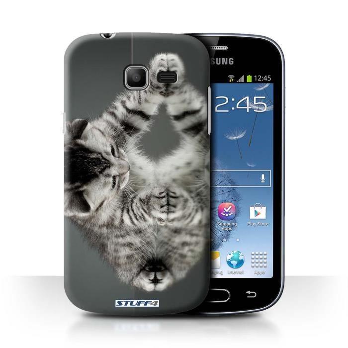 Coque de stuff4 coque pour samsung galaxy trend lite s7390 miroir design chatons mignons - Coque pour samsung galaxy trend lite ...
