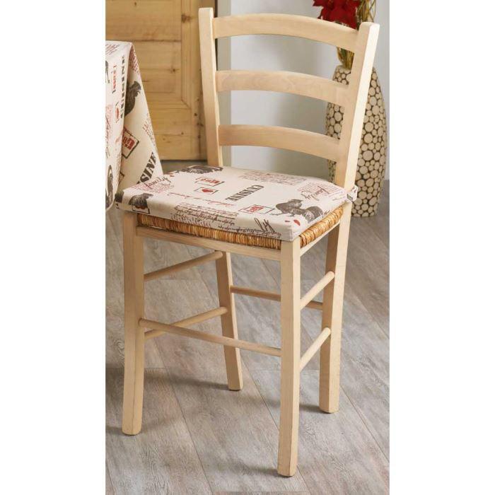 galette de chaise scratchs fermette achat vente coussin de chaise cdiscount. Black Bedroom Furniture Sets. Home Design Ideas