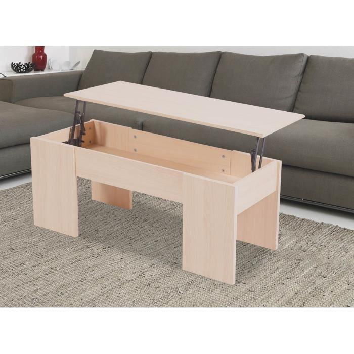 table basse avec le plateau relevable maria c achat vente table basse table basse avec. Black Bedroom Furniture Sets. Home Design Ideas
