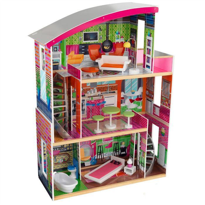 Kidkraft maison de poup es designer 11 access achat for Maison moderne kidkraft
