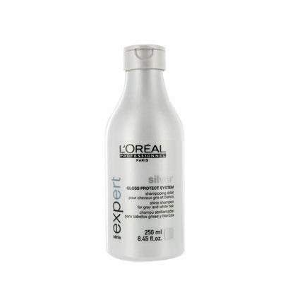 coloration gloss color silver 250 ml serie expert - Shampoing Colorant Cheveux Blancs