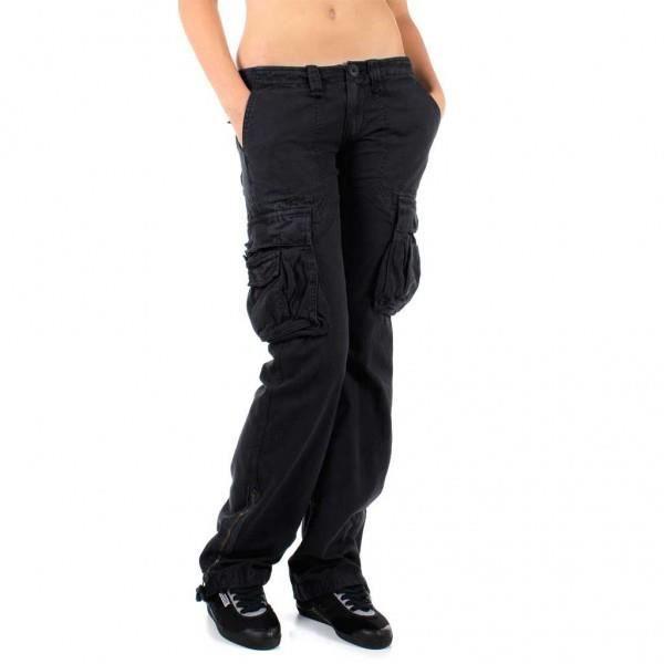 Object moved - Pantalon treillis femme le temps des cerises ...