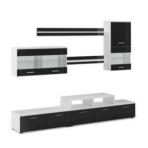 Meuble tv achat vente meuble tv pas cher cdiscount for Ensemble meuble salon sejour