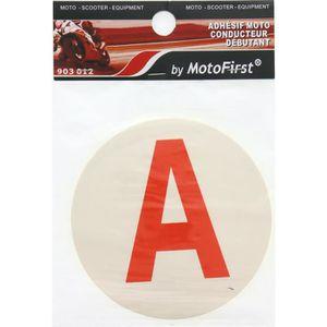 MOTOFIRST Adhésif moto Conducteur débutant A