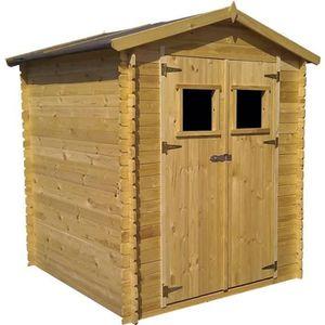 Abris de jardin bois 4m2 achat vente abris de jardin bois 4m2 pas cher cdiscount for Abri de jardin en bois sans entretien