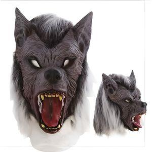 masque halloween latex loup achat vente jeux et jouets. Black Bedroom Furniture Sets. Home Design Ideas