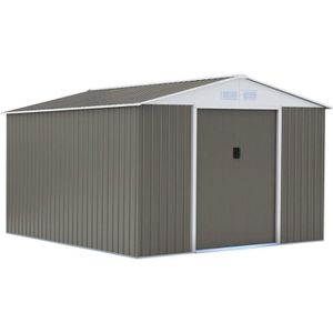 abri de jardin metal 10m2 achat vente abri de jardin metal 10m2 pas cher les soldes sur. Black Bedroom Furniture Sets. Home Design Ideas