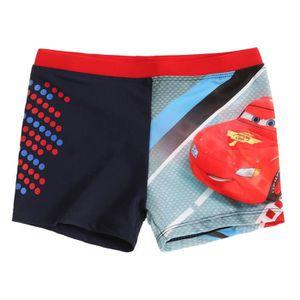 MAILLOT DE BAIN boxer short de bain cars disney rouge