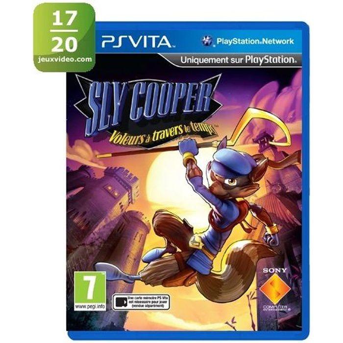 JEU PS VITA Sly Cooper Thieves In Time Jeu PS Vita