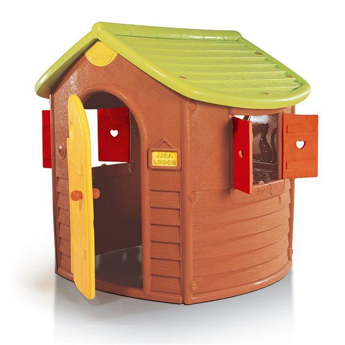 smoby maison jura lodge achat vente maisonnette
