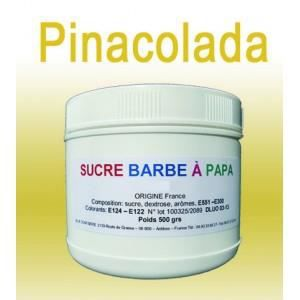 sucre barbe papa ananas coco pinacolada 500 gr achat. Black Bedroom Furniture Sets. Home Design Ideas