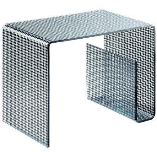 Ads 2015 table basse d 39 appoint porte revues plexiglas acrylique noir achat vente table - Table basse acrylique ...