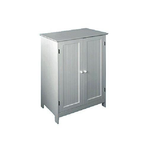 meuble salle de bain en bois deux portes 60x35x87h achat vente salle de bain complete. Black Bedroom Furniture Sets. Home Design Ideas