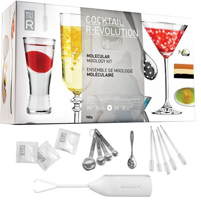 grand kit coffret cocktail mol culaire cuisine mol culaire avec dvd de 30 recettes achat. Black Bedroom Furniture Sets. Home Design Ideas