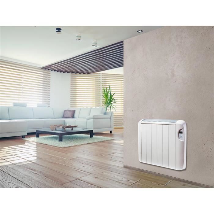 radiateur heallux radiateur lectrique coeur de chauffe c ramique 1500w achat vente. Black Bedroom Furniture Sets. Home Design Ideas