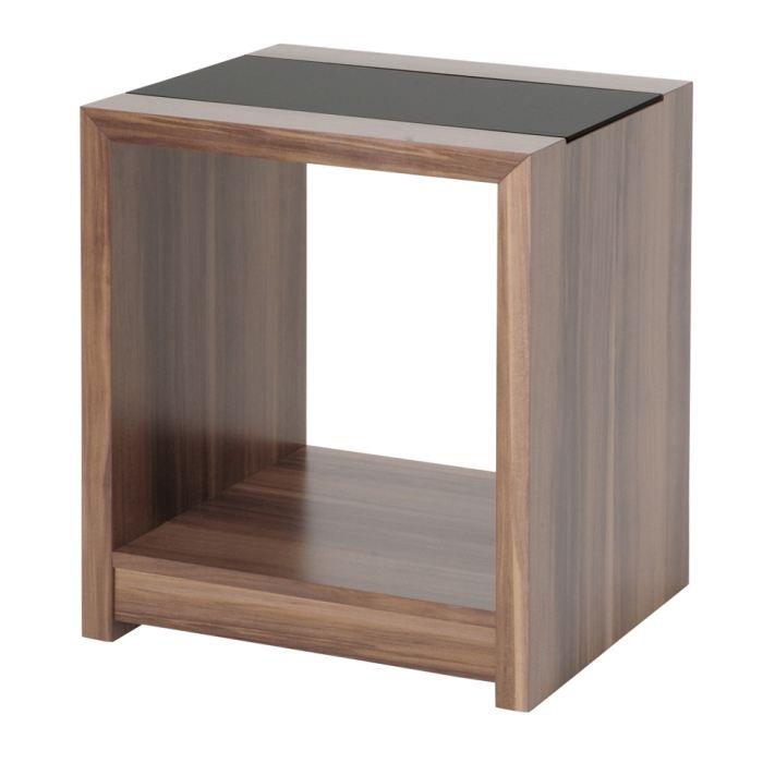 Table d 39 appoint swithome alix en bois imitation achat - Table d appoint en bois ...
