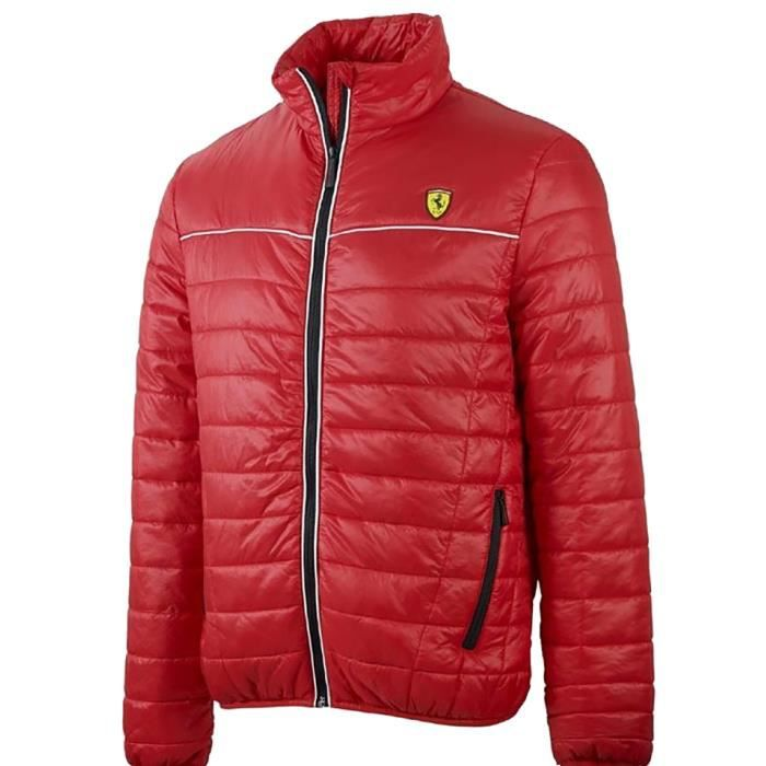 veste matelass e homme ferrari rouge rouge achat vente doudoune cdiscount. Black Bedroom Furniture Sets. Home Design Ideas