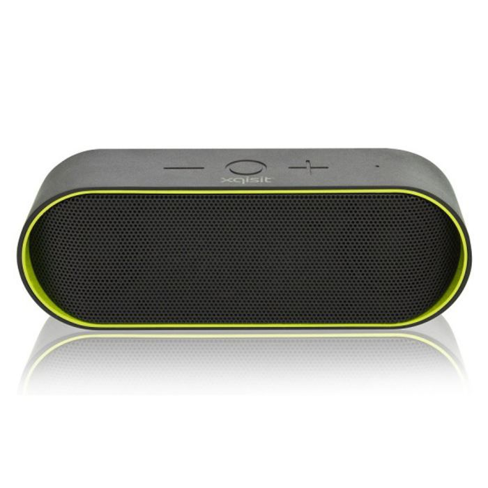 enceinte bluetooth stereo xqs10 vert achat vente. Black Bedroom Furniture Sets. Home Design Ideas