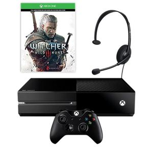 Pack Console Xbox One + Jeu The Witcher 3