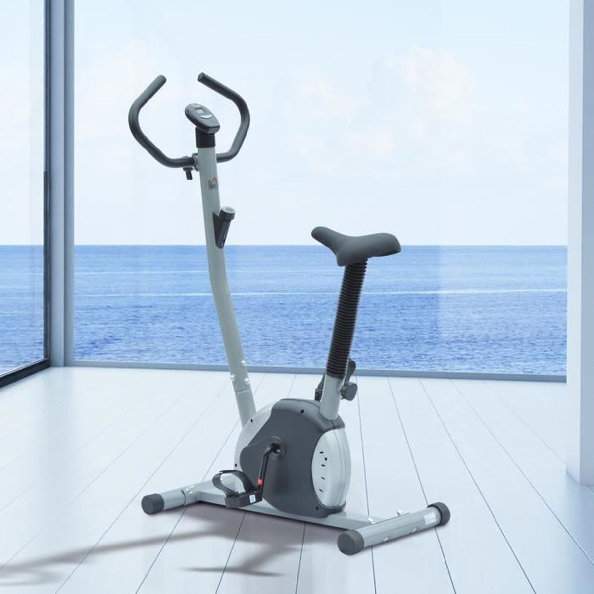 V lo d appartement exercice cardio compteur lcd guidon - Prix velo d appartement ...