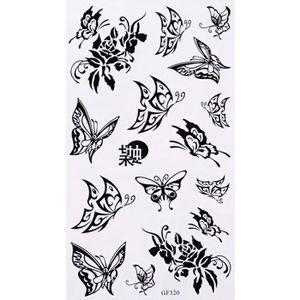 tatouage temporaire papillon achat vente tatouage temporaire papillon pas cher cdiscount. Black Bedroom Furniture Sets. Home Design Ideas