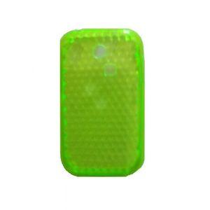 COQUE - BUMPER Coque Samsung Chat 335 verte effet nid d'abeille s