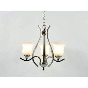 chandelier 50 cm achat vente chandelier 50 cm pas cher cdiscount. Black Bedroom Furniture Sets. Home Design Ideas