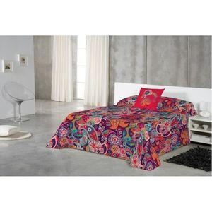 couvre lit 260 x 280 achat vente couvre lit 260 x 280. Black Bedroom Furniture Sets. Home Design Ideas