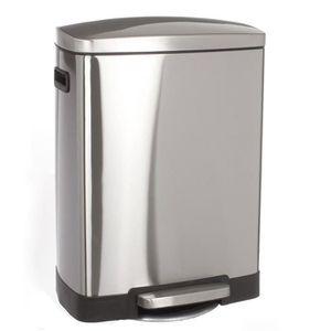 poubelle p dale 50l achat vente poubelle p dale 50l pas cher les soldes sur cdiscount. Black Bedroom Furniture Sets. Home Design Ideas