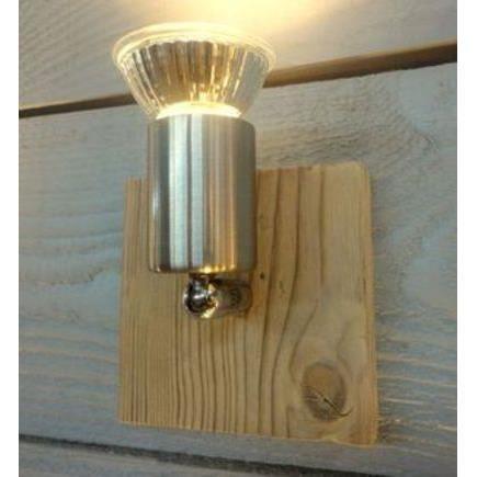 applique carr bois et m tal bross e boutica design achat vente applique carr bois et. Black Bedroom Furniture Sets. Home Design Ideas