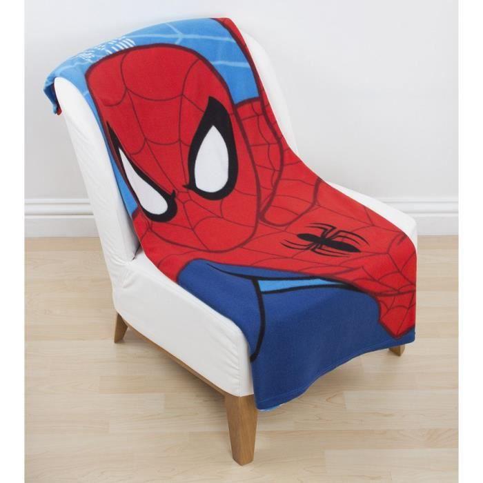plaid polaire spiderman achat vente couverture plaid cdiscount. Black Bedroom Furniture Sets. Home Design Ideas