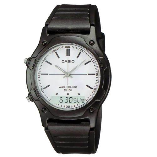 casio aw49h 7e montre homme etanche 50m achat vente montre cdiscount. Black Bedroom Furniture Sets. Home Design Ideas