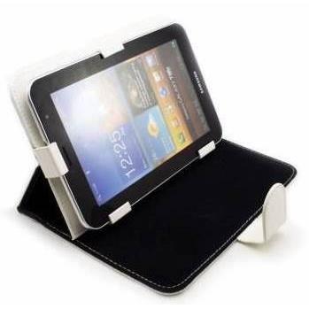 etui coque housse tablette 9 7 pouces cuir blanc achat. Black Bedroom Furniture Sets. Home Design Ideas