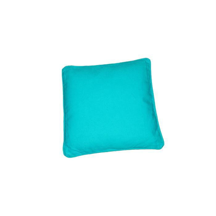 Coussins 40 40 turquoise achat vente coussin cdiscount for Objet deco couleur turquoise
