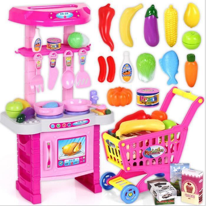 24pcs set jouets pour enfants cartoon forme mignon les ustensiles de cuisine achat vente. Black Bedroom Furniture Sets. Home Design Ideas