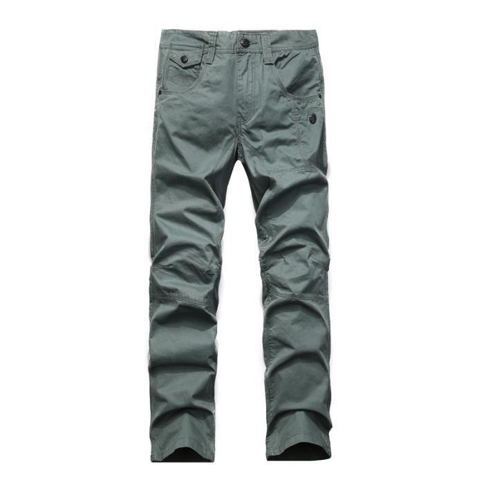 Pantalon cargo homme 3 couleur gris fonc gris fonc achat vente pantalon cdiscount - Couleur gris fonce ...