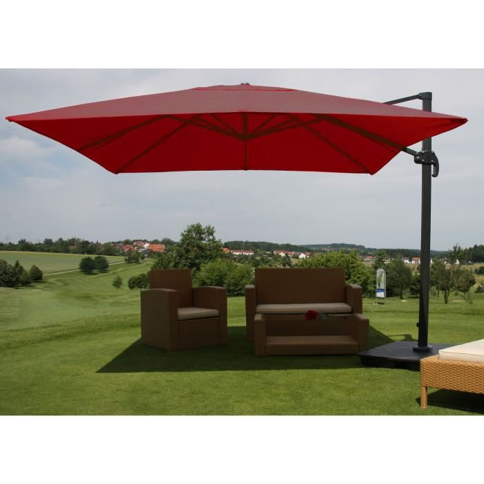 parasol parapluie de luxe parasol bordeaux ave achat vente parasol parasol parapluie de. Black Bedroom Furniture Sets. Home Design Ideas