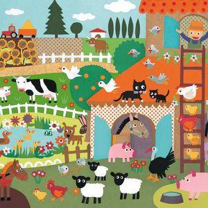 Puzzle Djeco Observation La Ferme 35 pcs Enfant...